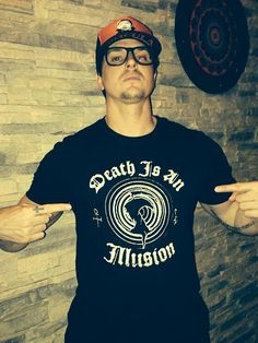 """@ReaperFashion Death is an Illusion T-shirt order at http://ReaperStore.com "" - Zak Bagans"