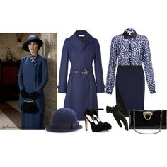"""Downton Abbey Inspired, requested by imaginarums"" by fashionablyroyal on Polyvore"