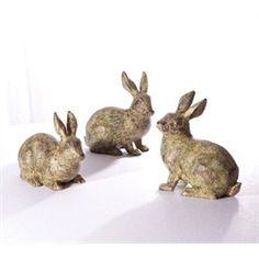 Spring Serenity Spring Bunny Rabbit Figurines