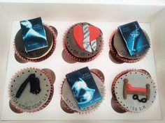 Cupcakes Take The Cake: It had to happen: Fifty Shades of Grey, Fifty Shades Darker and Fifty Shades Freed cupcakes