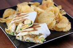 Chicken and Avocado Wraps Recipe - Free Online Recipes | Free Recipes