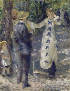 Auguste Renoir, The Swing.                                                                                                                                                                                 More