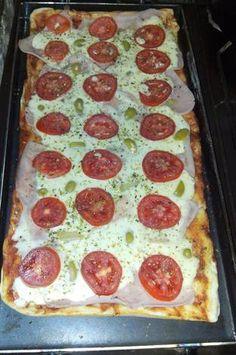 Pizza a la planchetta