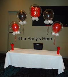 Need something to jazz up your cake table or candy buffet? Why not try one of our bubble arches! Custom made to suit any theme or occasion with hundreds of colours, prints & foils balloons to choose from. www.thepartyshere.com.au