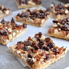 BREANNA'S RECIPE BOX: Salted Toffee-Chocolate Squares