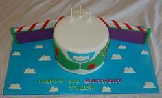 Buzz light year cake