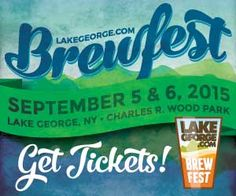 Sample beers from over 60 breweries at the  1st annual Lake George Brewfest on Sat, Sept. 5, 2015! The festival will feature live music, food, fireworks and fun for all!