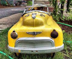 "vintage pedal car ""Junk Salvation"" by Funky Junk Sisters"