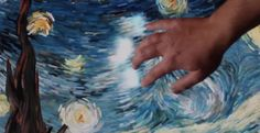This dude make Van Gogh's Starry Night an interactive experience. Super cool. Check it out.