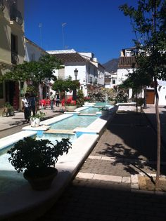 Lovely old town of Estepona
