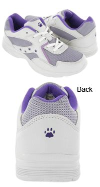Defender Ultra Lite™ Purple Paw Walking Shoes  $39 animal rescue site, this will fund 28 bowls of food