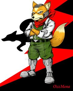 :Fox McCloud: by OzzMena.deviantart.com on @deviantART