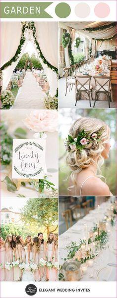 Wedding color palettes for spring summer 2017 41