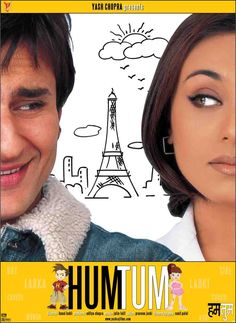Orginal Poster from the movie, Hum Tum (2004).