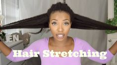 STRETCHING 4C Natural Hair! Highly Requested - Avoid Shrinkage, No heat - Waist Length Natural Hair [Video] - http://community.blackhairinformation.com/video-gallery/natural-hair-videos/stretching-4c-natural-hair-highly-requested-avoid-shrinkage-no-heat-waist-length-natural-hair-video/