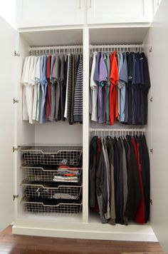 Beau The Happy Homebodies: DIY: How To Build A Wall Of Closets From Scratch |  Closets U0026 Organization | Pinterest | Walls, Custom Closets And Bedrooms