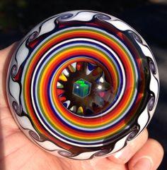 Rainbow Opal Eater Marble.