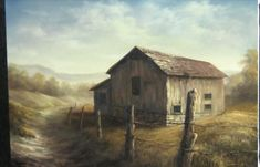 Are you struggling to paint buildings? Watch Kevin as he shows you how to paint this country barn with fence posts and lots of detail. For more information about painting technique DVDs, go to www.paintwithkevin.com
