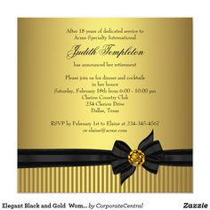 Free Retirement Invitations Template Best Template Collection