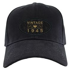 Vintage 1945 Baseball Hat on CafePress.com   .....................Please save this pin.   .............................. Because for vintage collectibles - Click on the following link!.. http://www.ebay.com/usr/prestige_online