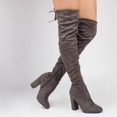 Ivy Over the Knee Faux Suede Boots
