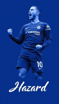 Eden Hazard ~ Chelsea FC #10 Chelsea Fc, Chelsea Logo, Chelsea Football, Football And Basketball, Football Players, Belgium National Football Team, National Football Teams, Hazard Wallpapers, Eden Hazard Chelsea