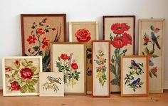 vintage needlework collection