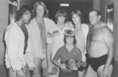 The Von Erichs. When I first got interested in pro wrestling, the Von Erich family was on top of the world. Slowly but surely, tragedy struck the family, to the point that Kevin is the only one still standing. For a few short years, they had Texas in the palm of their hands, and they all died way too young.