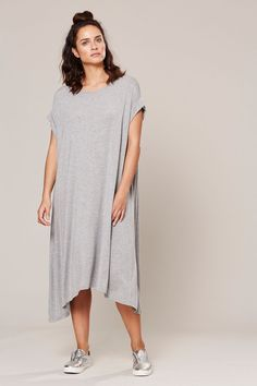 EB & IVE - VERONA JERSEY DRESS - LUNAR