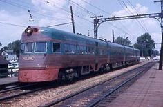 For the first half of the 20th century, the Chicago, North Shore & Milwaukee Railroad provided interurban passenger rail service between Milwaukee and Chicago. (http://www.trainweb.org/twerhs/northshore.html)