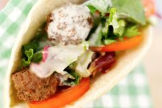 How to Make Homemade Falafel  Use gluten-free flour  http://mideastfood.about.com/od/maindishes/r/falafelrecipe.htm