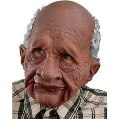 Grandpappy Old Man Mask - 378568 | trendyhalloween.com