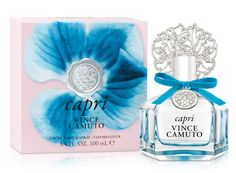 Vince Camuto Capri (2016) {New Perfume} - The Scented Salamander: Perfume & Beauty Blog & Webzine