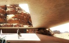Wadi Rum Resort - a hotel complex project in Jordan