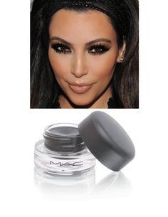 Kim Kardashian smoky eye