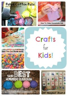 Beat the summer boredom with Crafts for Kids!