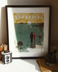 Submarine Film Poster A3 by EmyLouHolmes on Etsy