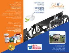 Brochure Farmacia Lourdes | Edwebstudio.com 787-210-0007