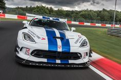 Dodge never got a Nurburgring lap time for the fifth-generation Viper ACR. This is the story of how a crowdfunded crew went about righting that wrong. Dodge Viper, Viper Acr, My Dream Car, Dream Cars, Race Cars, Racing, Vehicles, Badass, Fans