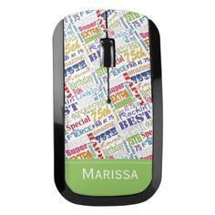 Special 75th Birthday Party Personalized Gifts Wireless Mouse - birthday gifts party celebration custom gift ideas diy