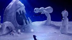 snow monster poster - Google Search