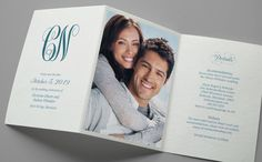 Kleinfeld Paper || Sweet Embrace Save-the-Date with photo