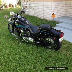 1996 Harley Davidson Bad Boy Springer Softail photo