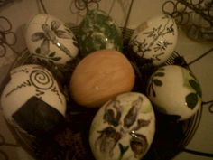 Painted Eggs Eggs, My Style, Crafts, Painting, Egg, Painting Art, Paintings, Crafting, Paint