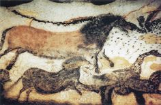 Cro-Magnon cave painting from Lascaux, southern France (20,000 years ago)