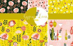 Gypsy Lane collection by Jane Farnham
