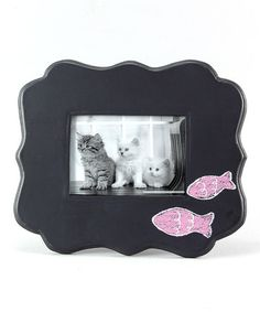 Look what I found on #zulily! Two-Fish Frame #zulilyfinds