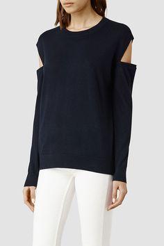 The Cold-Shoulder Look at AllSaints