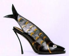 Perugia Shoes - 1931 - by André Perugia (French, 1893-1977) - Inspired by George Braque