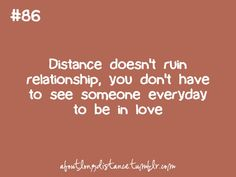I strongly believe every couple should go through a deployment. It either makes your relationship stronger or breaks it.
